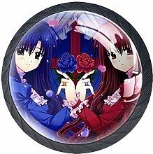 Xingruyun Drawer Knobs Anime Girl (368) Round