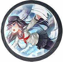 Xingruyun Drawer Knobs Anime Girl (397) Furniture