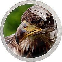 Xingruyun Drawer Knobs Eagle Round Furniture Knobs