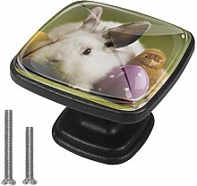Xingruyun Nightstands knobs Rabbit chick dresser