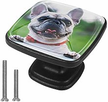 Xingruyun Wardrobe knobs Animal dog cute dresser