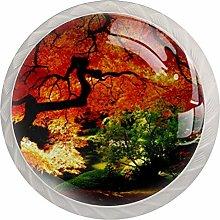 Xingruyun Wardrobe knobs beautiful Tree dresser