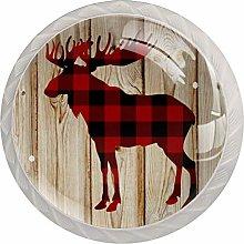 Xingruyun Wardrobe knobs Board Deer dresser knobs