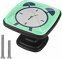 Xingruyun Wardrobe knobs Cartoon toy alarm clock