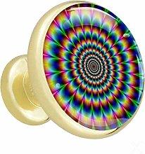 Xingruyun Wardrobe knobs Colorful dresser knobs