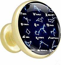 Xingruyun Wardrobe knobs Constellation dresser