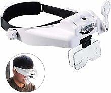 XingYue Direct Headband Magnifying Glasses Visor