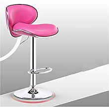 XINLEI Bar Chair with Backrest Lifted Rotated
