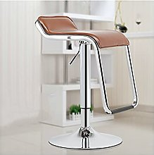XINLEI Bar Chair with Footrest Lifted Metal Front