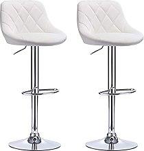 XINLEI Bar Furniture Bar Chairs White Soft PU