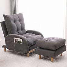XinQing-lazy sofa Recliner Couch Chair