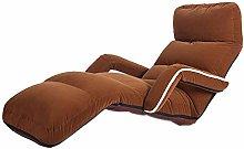 XinQing-lazy sofa Single Fabric Sofa Lazy Sofa