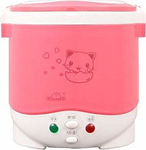 XINX 1.0L Electric Mini Rice Cooker for Car,