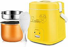 XINX 1.8L Mini Rice Cooker Steamer,Portable Food