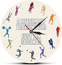 xinxin Wall Clock A Lifetime Of Training For Just