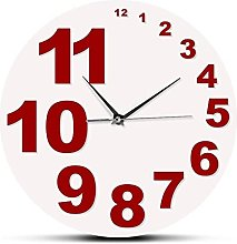 xinxin Wall Clock Crazy Wall Clock With Small And