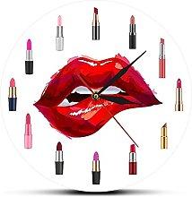 xinxin Wall Clock Girly Things Pretty Lipstick