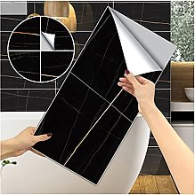 xinxinchaoshi Wallpaper 4PCS Black Marble Wall
