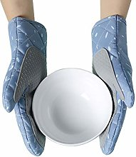 Xinyanmy Heat Resistant Oven Mitts Silicone Pot