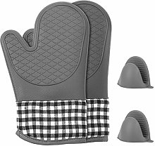 Xinzistar Oven Gloves Double Heat Resistant