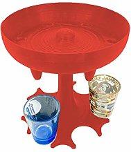 Xisimei 6 Shot Glass Dispenser and Holder - Liquid