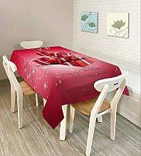 XIUJC Christmas Decoration Table Cloth