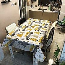 XIUJC Christmas decorative Tablecloth,rectangle