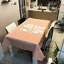 XIUJC Christmas Tablecloth, Anti-Stain Christmas