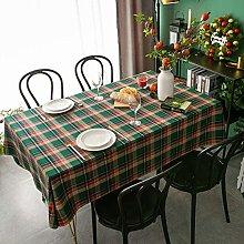 XIUJC Christmas Tablecloth, Oilcloth Tablecloth