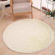 XIUJC Round Carpet - Shaggy Carpet Deep Pile