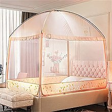XIUYJBD Double Bed Mosquito Net Window, A7 Bed