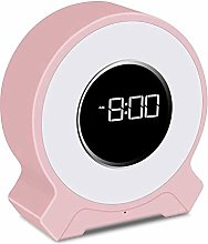 XIXIDIAN Digital Alarm Clock,Smart Speaker with