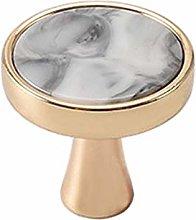 XIZONLIN Marble Ceramic Door Knobs, Wardrobe