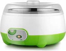 XJJZS Fashion DIY Home Electric Yogurt Machine