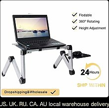 XJL Folding Dining Table Portable Adjustable