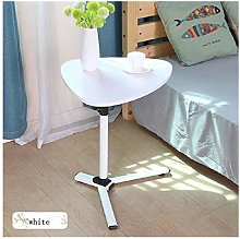 XJL Folding Dining Table Portable Small Bed Tray