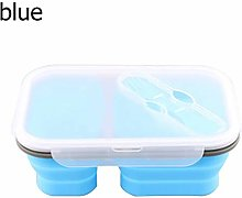 XJRHB 1100 Ml Disposable Lunch Boxes 2 Cells