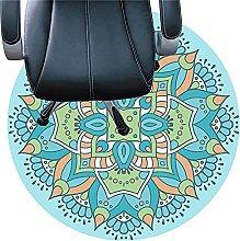 XJRS Desk Chair Carpet Protector Mat Washable