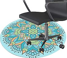 XJRS Mat for Office Chair Carpet Washable Floor