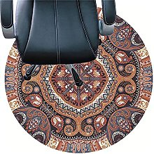 XJRS Rugs for Office Chairs Washable Floor