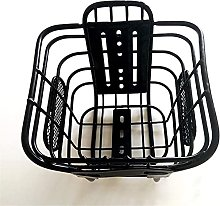 XJYXH Bicycle Front Basket, Thickening Bag Frame