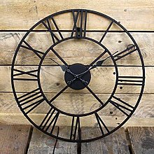 XJZKA BIG NUMERALS OPEN FACE METAL LARGE OUTDOOR