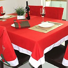 XJZSD 1pcs Tablecloth And 10pcs Chair Covers,
