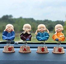 XKMY car decorate Car Ornaments 4Pcs/set Resin