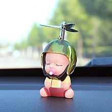 XKMY car decorate Car Toy Duck Pacifier Baby Doll