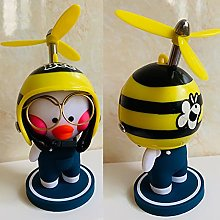 XKMY car decorate Dashboard Duck with Helmet