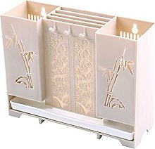 XKMY Cutlery Holder PVC Kitchen Knife Stand Tool