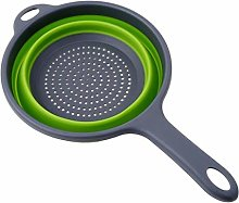 XKMY Foldable Silicone Colander Collapsible