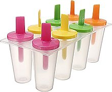 XKMY Ice Cream Moulds 8Cells Ice Pop Lolly Maker