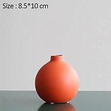XKMY Nordic Morandi Ceramic Flower Vase Home